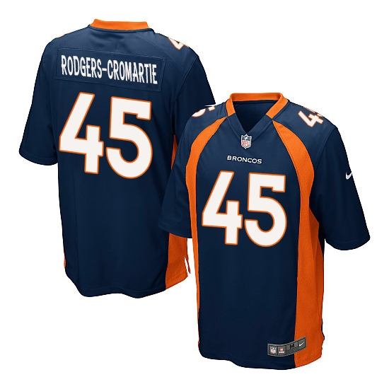 Nike Dominique Rodgers-Cromartie Denver Broncos Youth Limited Alternate Jersey - Navy Blue